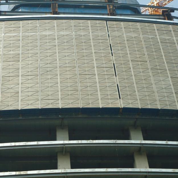 铝板爬架网